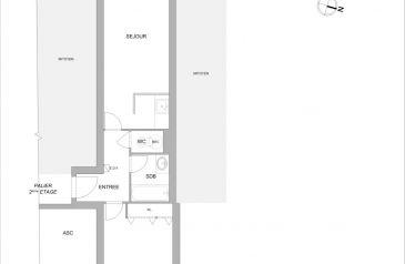 appartement 2 pieces la-roche-sur-yon 85000 2